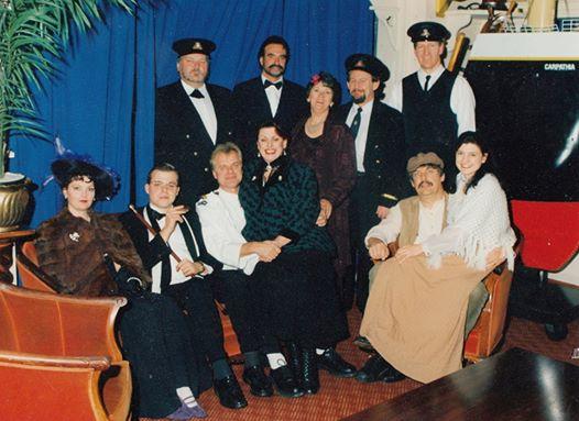 "Cast of ""Titanic to New York"""