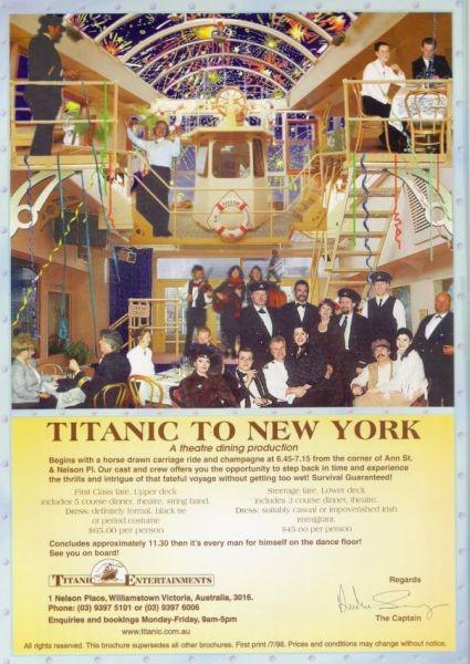 Titanic To New York
