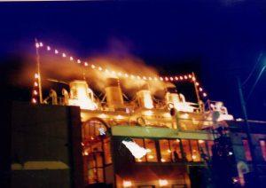 Sailing through the night